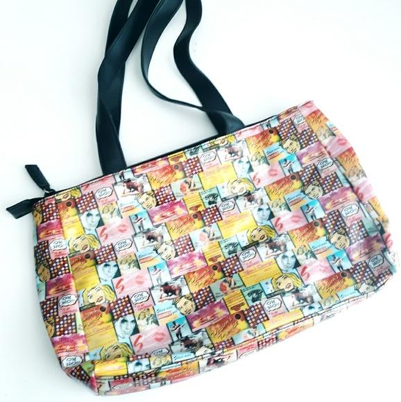 Relic Handbags - Relic Vixen Romance Comic Vinyl Handbag